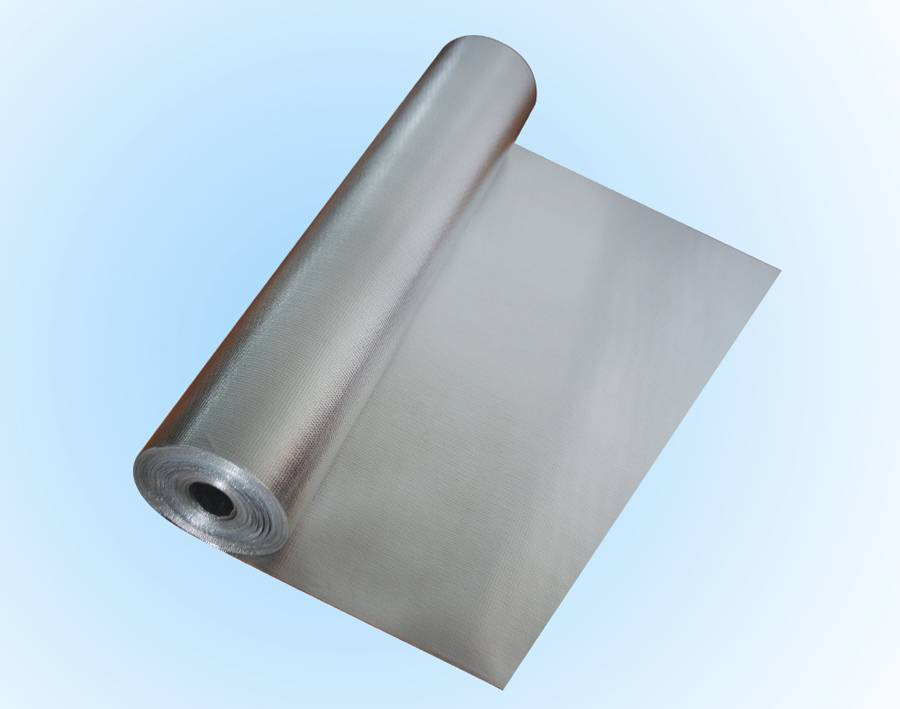 Breathable roof radiant barrier