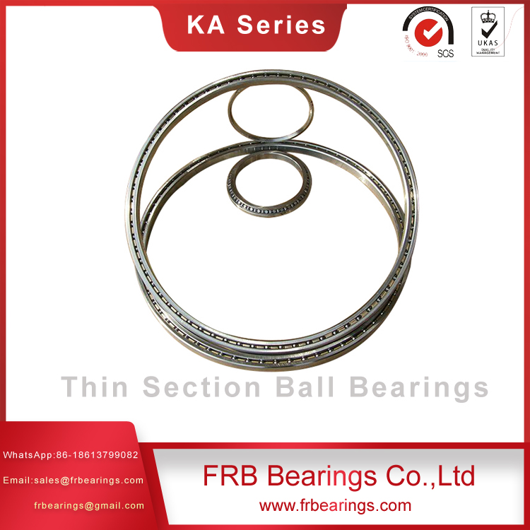Thin section four point contact bearing KAA series