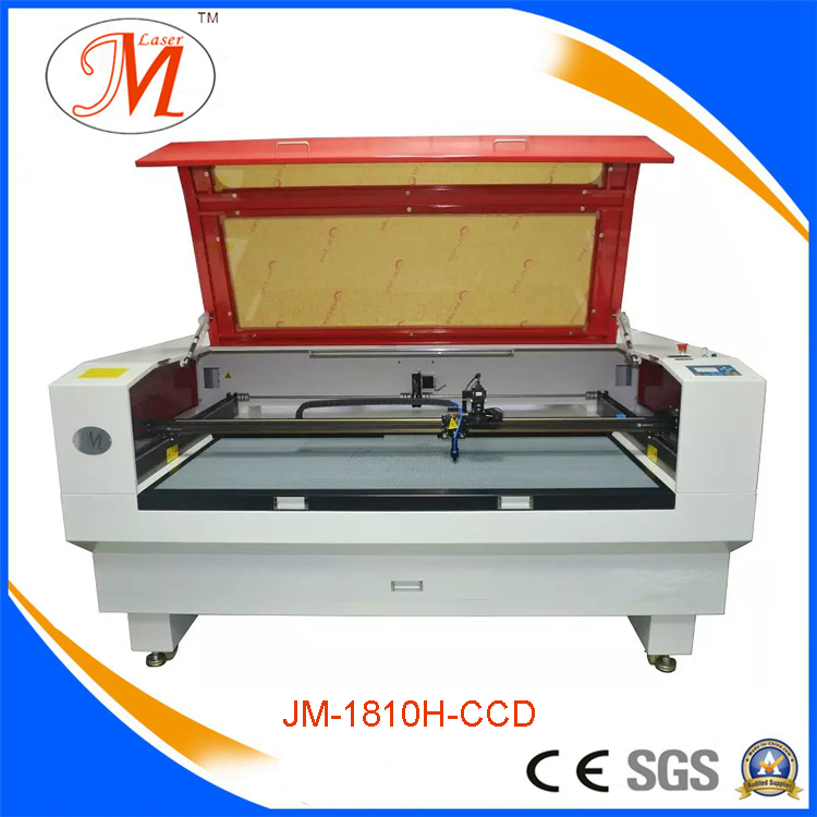 Popular and Fast Working for Laser Cutting Machine (JM-1810H-CCD)