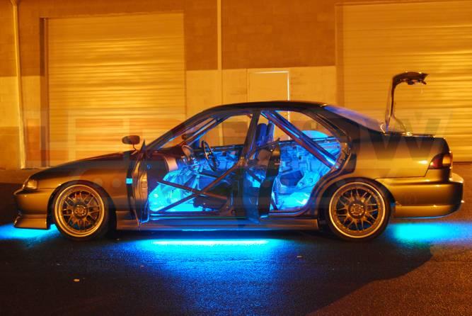 Underbody Underglow Kit Neon Strip Car Body Glow LED Light