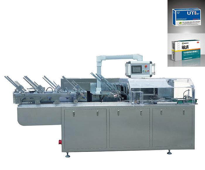 Food/ Hardware/Pharmaceutical/Cosmetic/Medicine/Bottle/Tube Box Packing Cartoning Machine