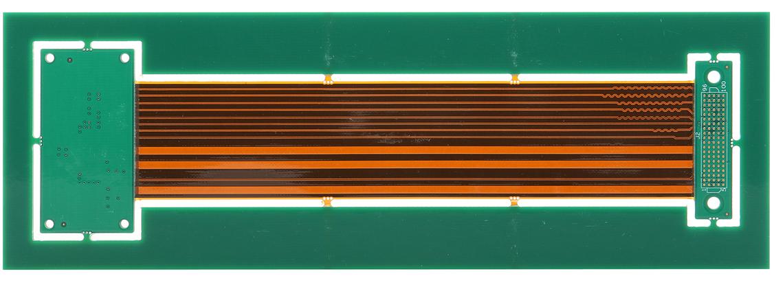 12 layers rigid-flexible PCB