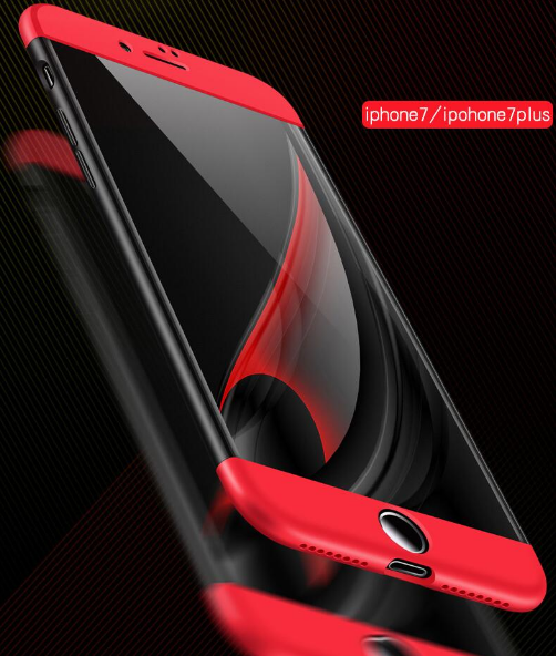 360 Degree Full Cover Case For iphone 7 Case Silicone Back Cover For iphone 5s 6 6s plus Phone Case