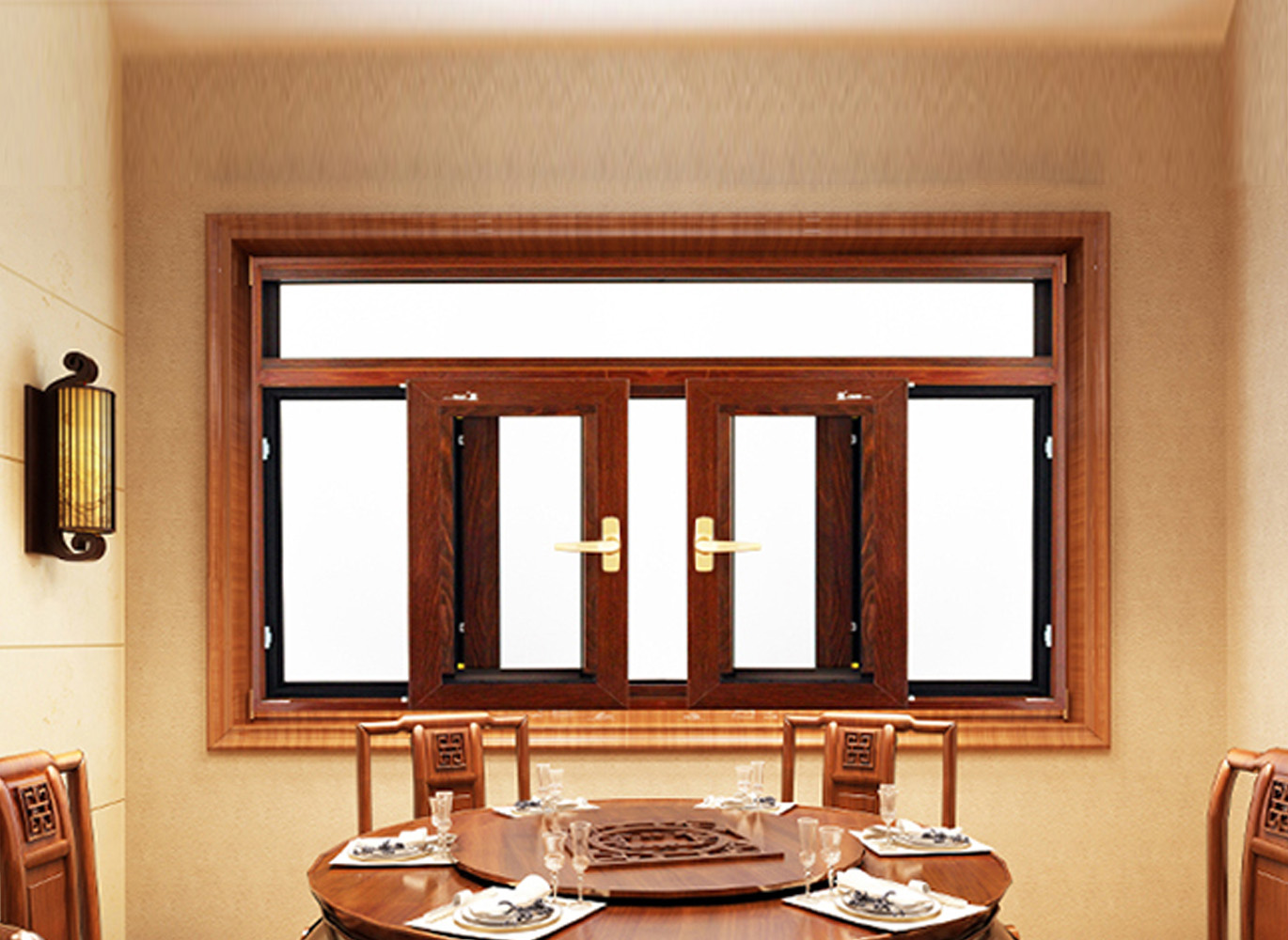 double glazing aluminium tilt and slide windows for house with best thermal and acoustic performance