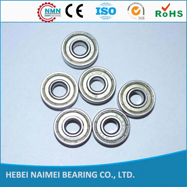 Miniature Deep Groove Ball Bearing 608 For Automotive Electric Components