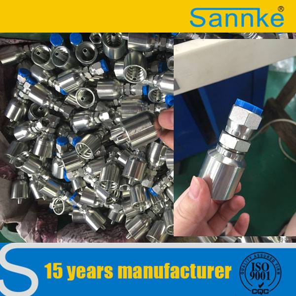 Paker High Quality One piece Hydraulic Hose Fittings