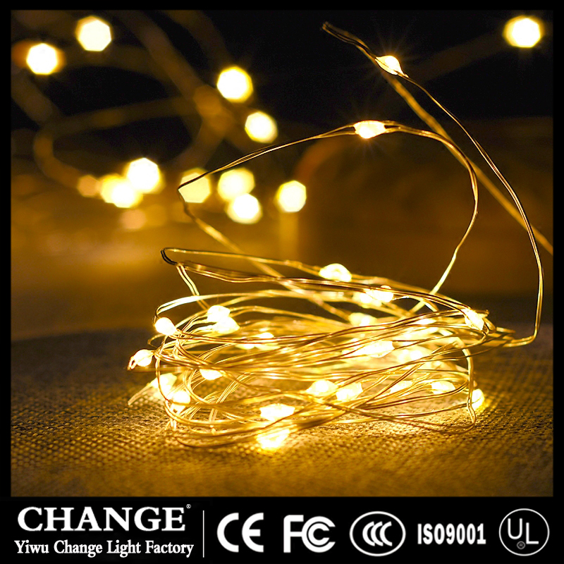 LED Copper Wire Fariy String Lights holiday Christmas Birthday Wedding Baby Party Wedding Decor