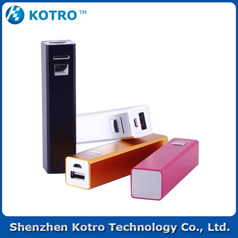 Gift style power bank 2600mah for mp4