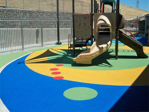 epdm rubber granules for infant playground