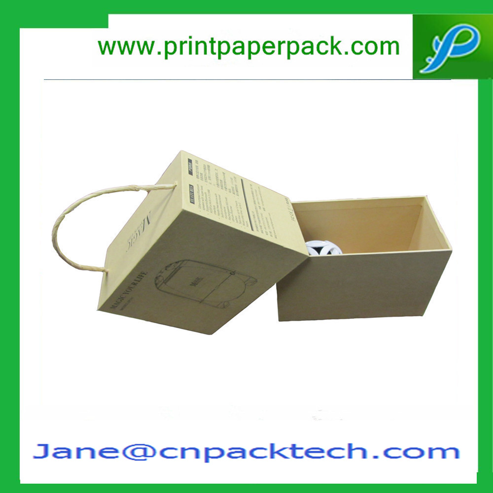 Custom Printing Presentation Box Kraft Paper Box Lid and Base Boxes