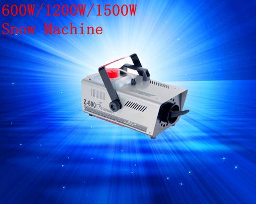 600W Snow Machine
