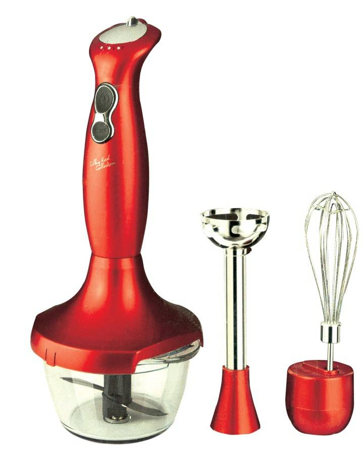 3 in 1 Mini Hand Blender AK-1458 With CE RoHS