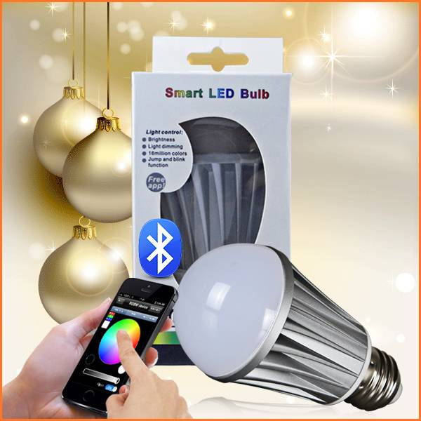 bluetooth hue e27 20w led light bulb with remote control by iphone or android