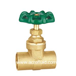 brass gate valve ABV301004