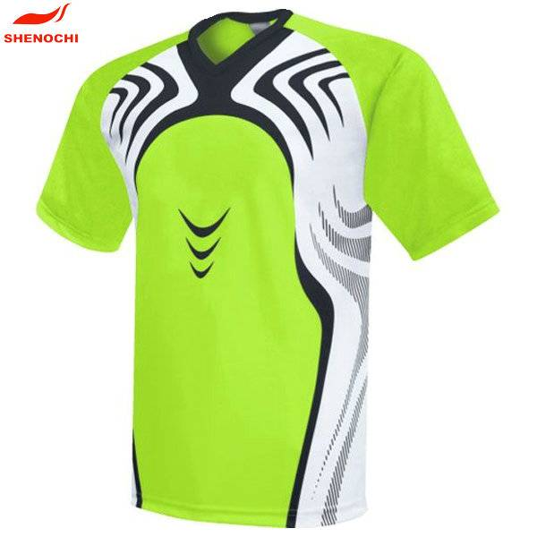 Customized football wear, low MOQ sportswear and fast shipping rugby jersey