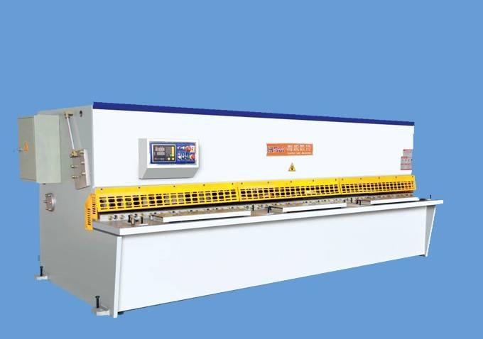 QC12K Simple Type NC Hydraulic Shearing Machine