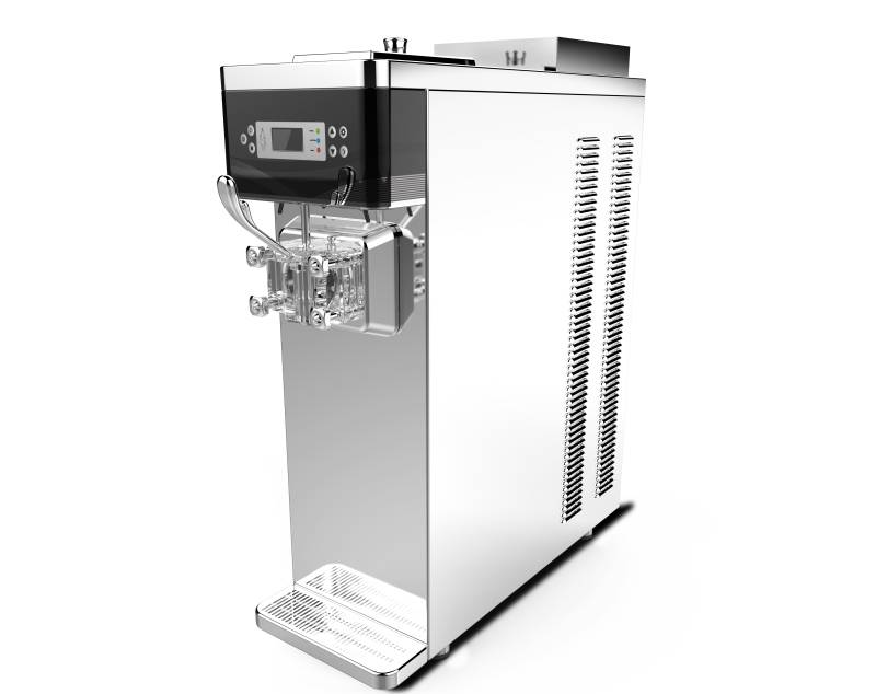 Taycool Mini Soft Ice Cream Machine TC282S with Counter Top Model