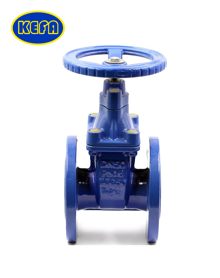 DIN F4 Resilient seated gate valve