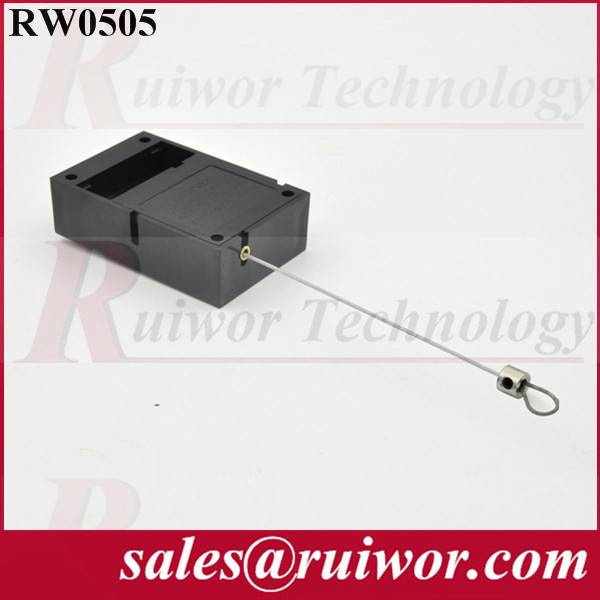 Anti-ther retractor, anti theft pull box RW0505