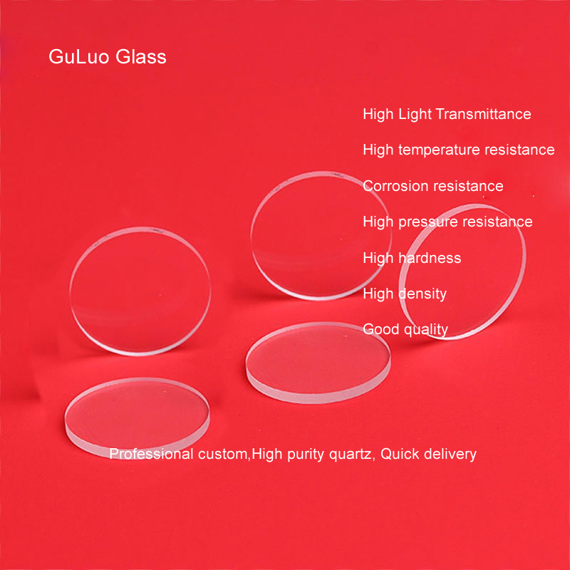 JGS2 quartz sheet, high temperature quartz glass sheet, high purity optical quartz chip, can be cust