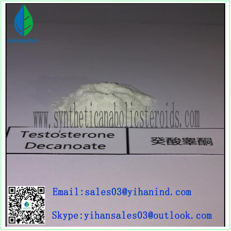 99% Purity Raw Steroids Powder Testosterone Decanoate for Budybuilding CAS: 5721-91-5 Iris