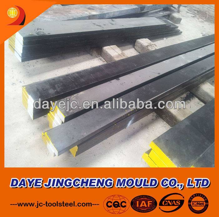 DIN 1.2581 Steel Flat, Forged Hot Work Tool Steel 1.2581
