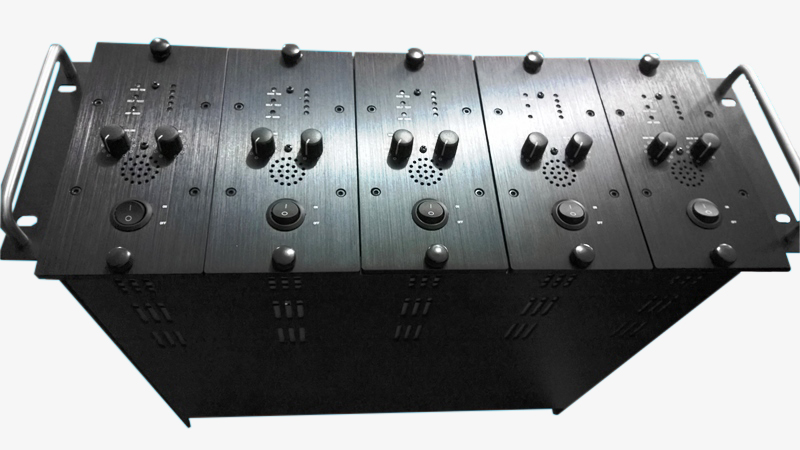 5channel 500W/100V/Channel PA Amplifier Array