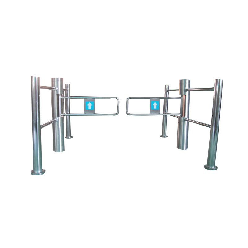 Electric access control system swing gate for supermarket
