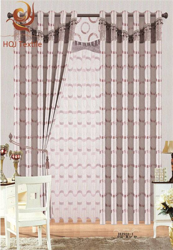 popular design jacquard curtain