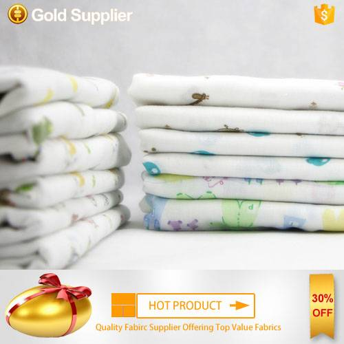 eco-friendly thin 100% cotton children's sleepwear fabric