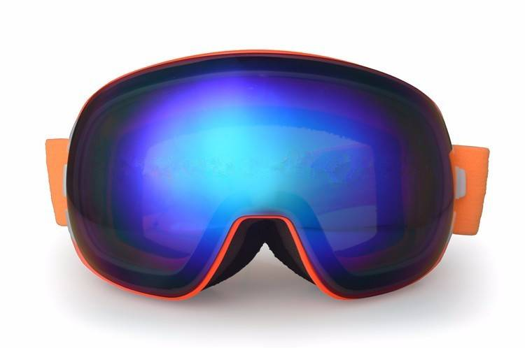 high qualified interchangeable PC lens snowboarding goggles