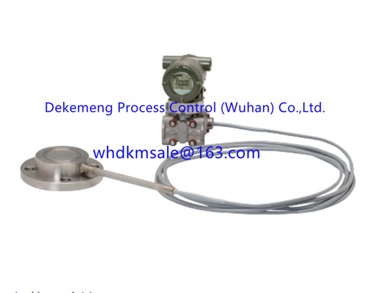 EJA438E Gauge Pressure Transmitter with Remote Diaphragm Seal