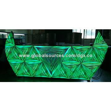 Cool LED DJ Booth with CE and RoHS Marks, Customized Designs are WelcomeCool LED DJ Booth with CE an