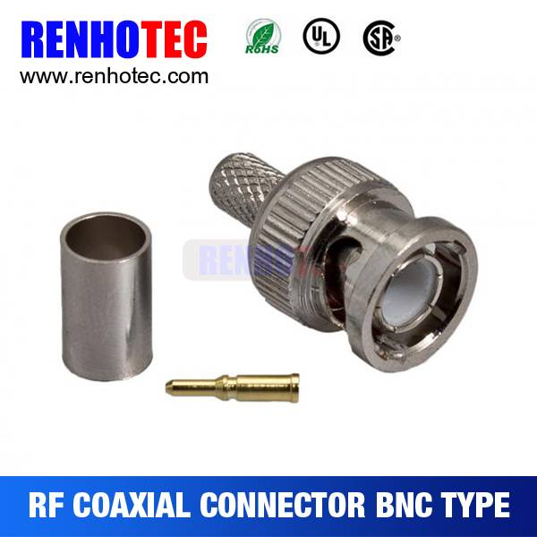 Bnc connector to 1.0/2.3 connector
