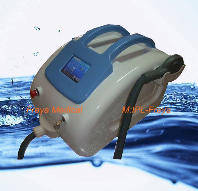 E-light(IPL+RF)beauty machine hair removal,skin rejuvenation,pigment removal,vascular removal and ac