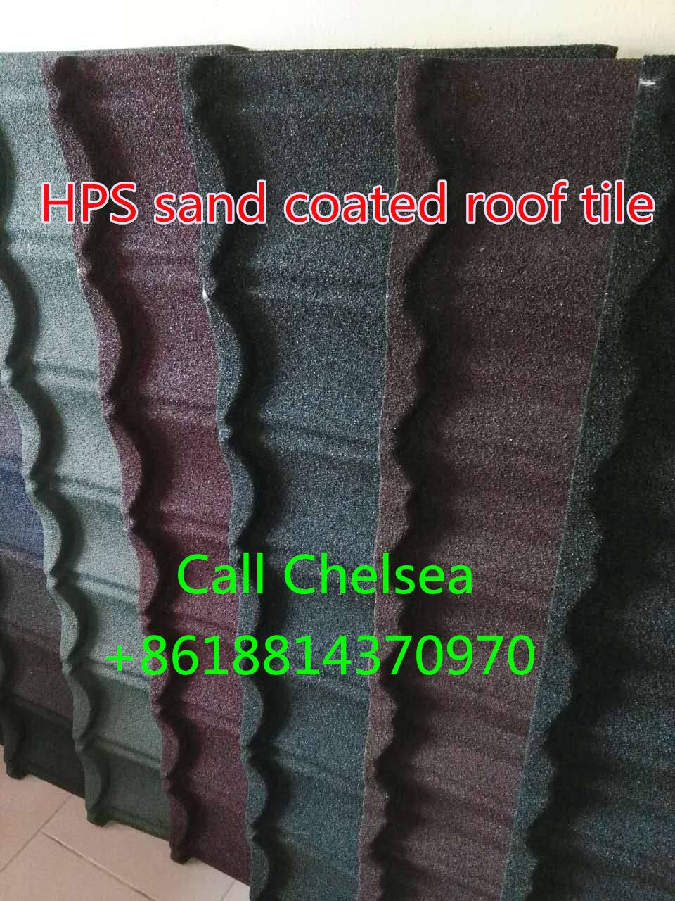 HPS brand Classic stone coated metal roof tiles in Abuja,Lagos and Onitsha warehouse