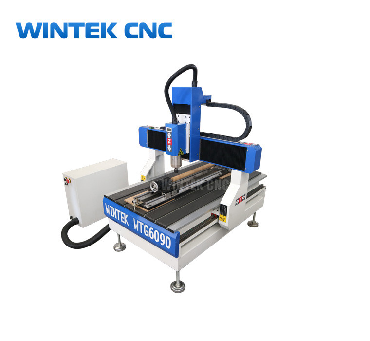 Hobby Mini 4 Axis 6090 Cnc Router With Rotary With Cheap Price
