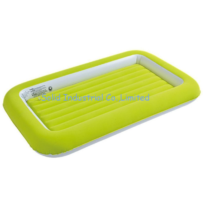 Factory Customized Flocked PVC Inflatable Baby Airbed
