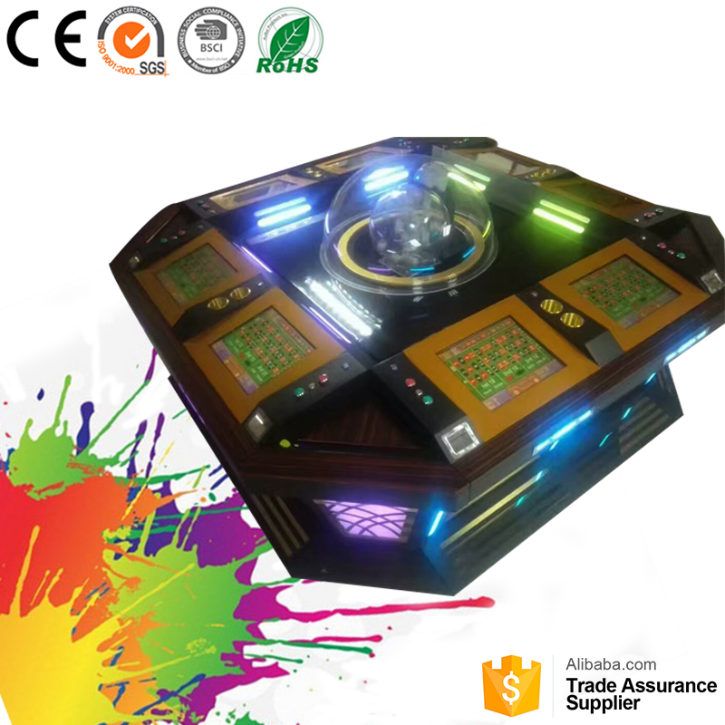 Most popular high profits casino game machines roulette game machine for sale
