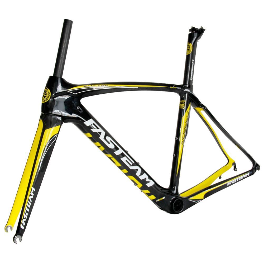 FASTEAM frame full carbon fiber t700 road frame 700c bicycle carbon frame china road bikes wholesale