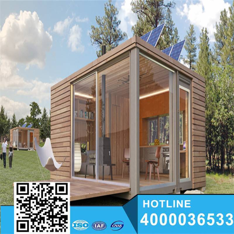 Prefabricated popular wood 20feet bungalow