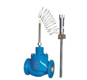 Self-operated temperature control valve