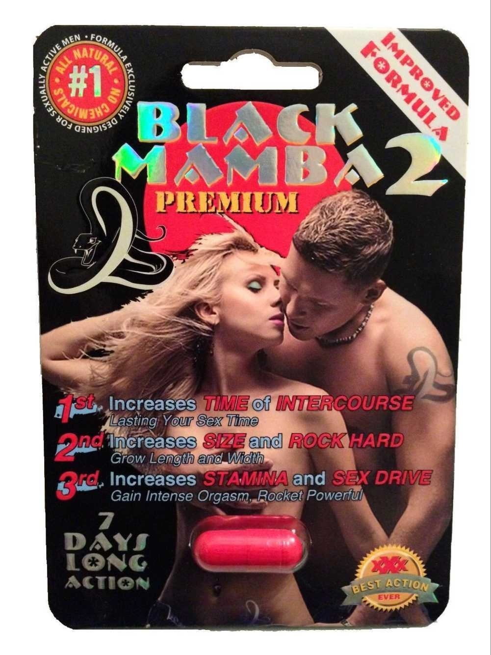 Black Mamba 2 male enhancer capsules factory price