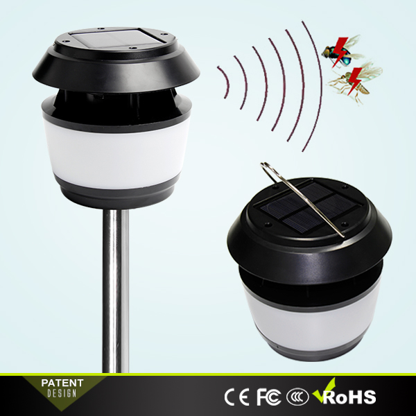Private Design Solar LED Mosquito Repellent Garden Light Decorative