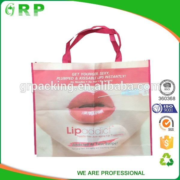 OEM recycled non woven shopping bag