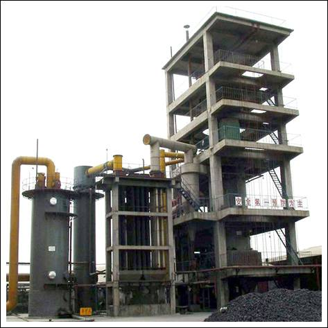 Two-section gasifier