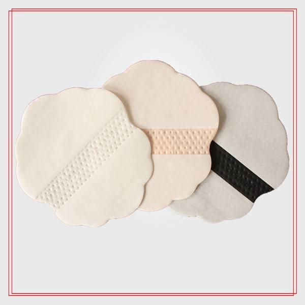 HD125-1 CE ISO Certificate sweat absorbent pad