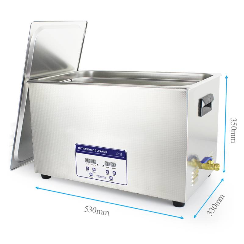Ultrasonic parts washer for school laboratory and medical parts