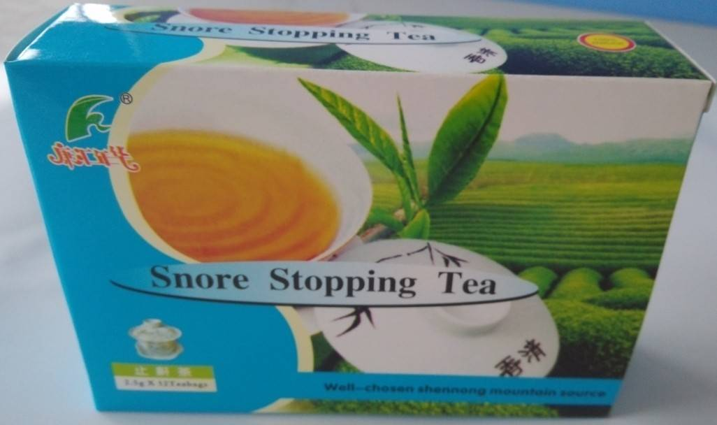 Snor Stopping Tea