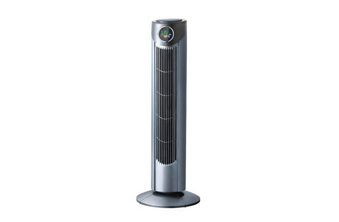 35'' Europe popular tower fan with remote control, 3 speed and 12h timer